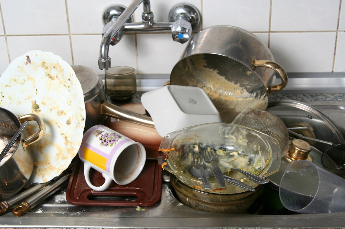 Why Do We Hate Washing Dishes?!