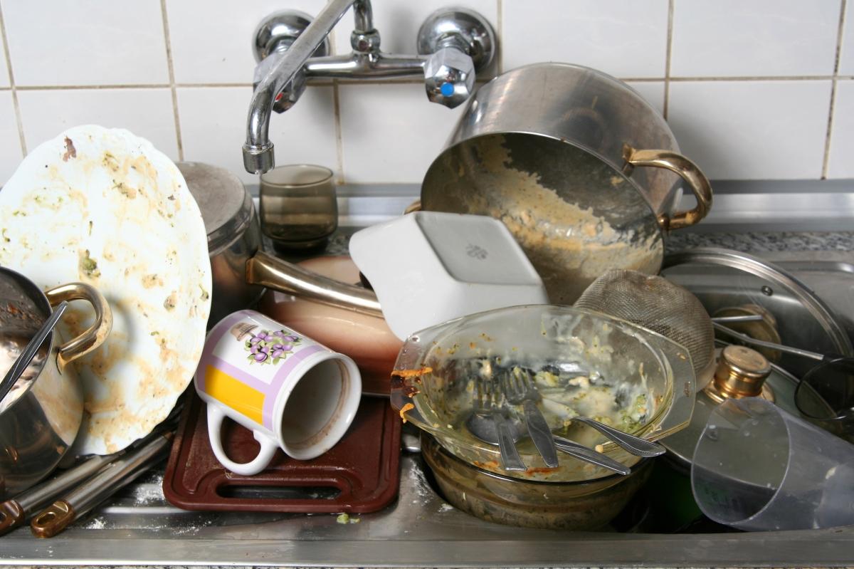 Why Do We Hate WashingDishes?!